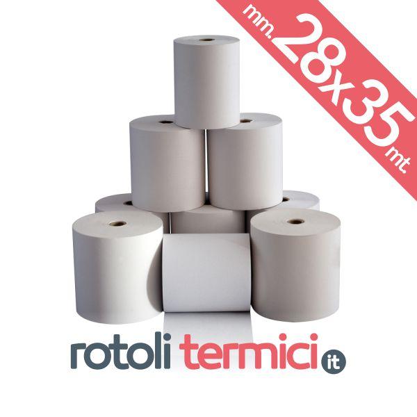 rotoli carta termica 28x35