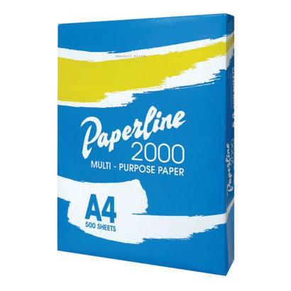 risma carta a4 paperline 2000 80gr.